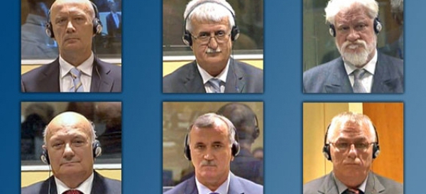 Croat leaders in last ICTY judgment for crimes in Bosnia