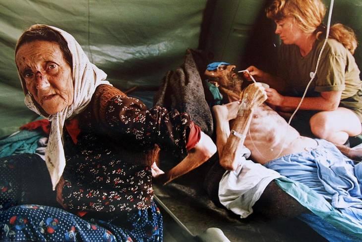 Victimes du génocide à Srebrenica