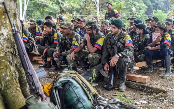 Démobilisation des FARC en Colombie