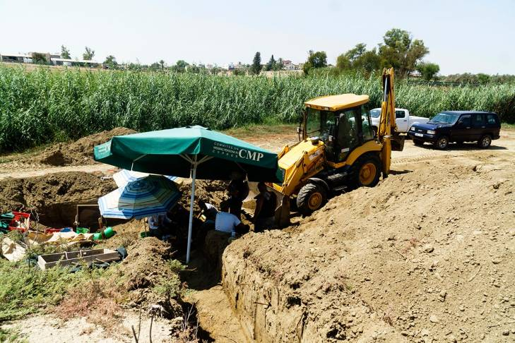 CMP digs into the ground in search of missing bodies