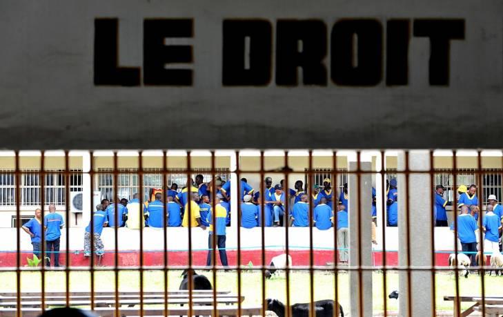 Prison de Makala en R.D. du Congo