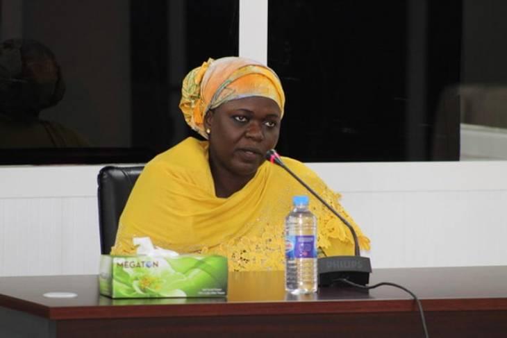 Sainabou Camara témoigne devant la Commission vérité (TRRC) en Gambie