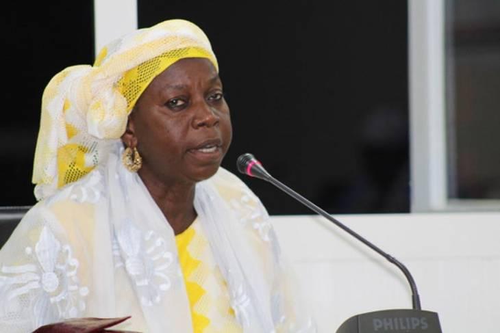 Fatoumatta Camara témoigne devant la Commission vérité (TRRC) en Gambie