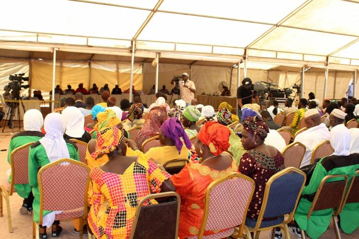 La commission vérité gambienne (TRRC) se déplace à Foni
