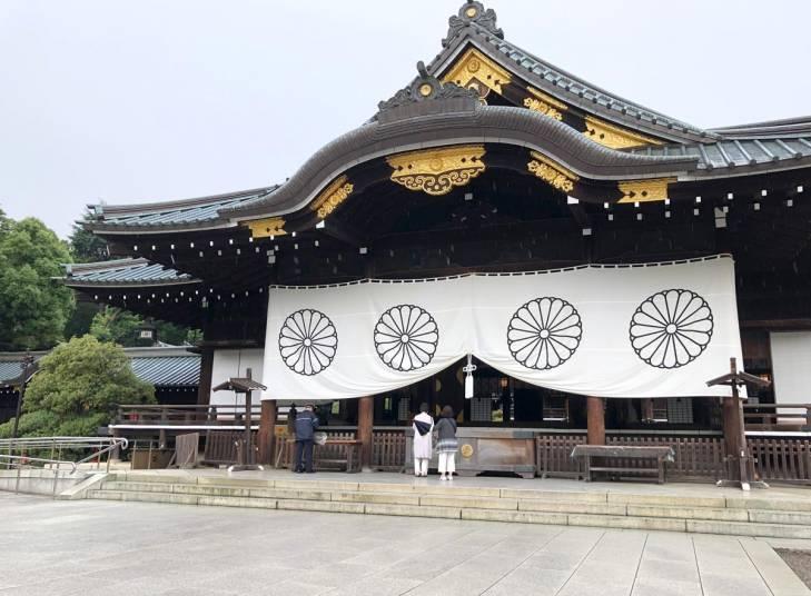 Le sanctuaire de Yasukuni à Tokyo