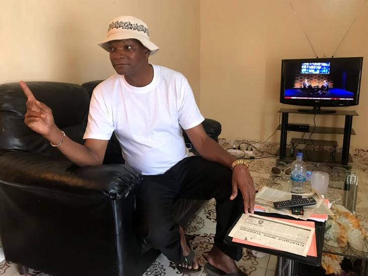Batch Samba Jallow, sitting in an armchair in his house in Banjul, tells JusticeInfo how he was tortured in 1995 under the regime of Yahya Jammeh.