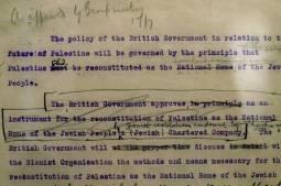 La Déclaration Balfour a un siècle : l'Autorité palestinienne veut un procès