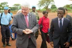Shadow of ex-presidents over Central African Republic
