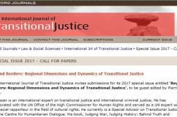 IJTJ: Call For Papers