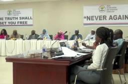 Les acteurs clés de la Commission vérité en Gambie