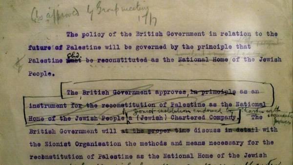 Αποτέλεσμα εικόνας για balfour declaration