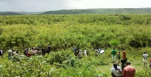 RWANDAN SWAMP BECOMES GENOCIDE MEMORIAL