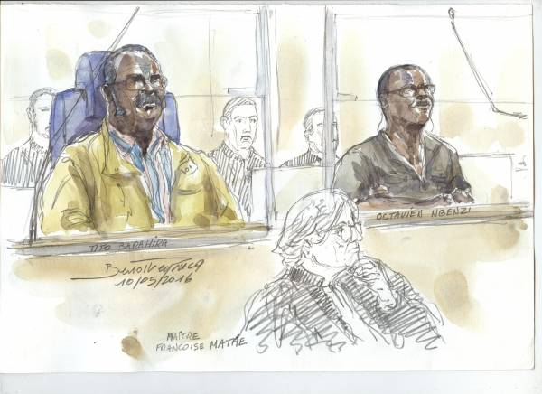 Portraits of Two Rwandan Mayors Unfold in Paris Genocide Trial