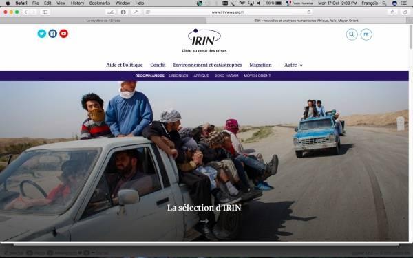 New-look IRIN opens Geneva office