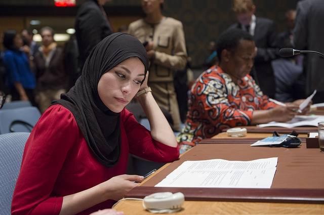 """"""" L'ONU DOIT EXIGER LA PARTICIPATION DES FEMMES AUX PROCESSUS DE PAIX"""", SELON UNE MILITANTE CONGOLAISE"""