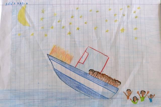 Les corps sans nom des migrants morts en mer
