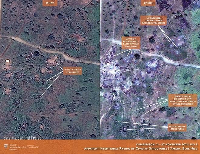 Le ciel n'a plus toutes les réponses : images satellitaires et crimes de guerre