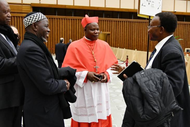 La rassembleuse intronisation de Mgr Dieudonné Nzapalainga, premier cardinal centrafricain