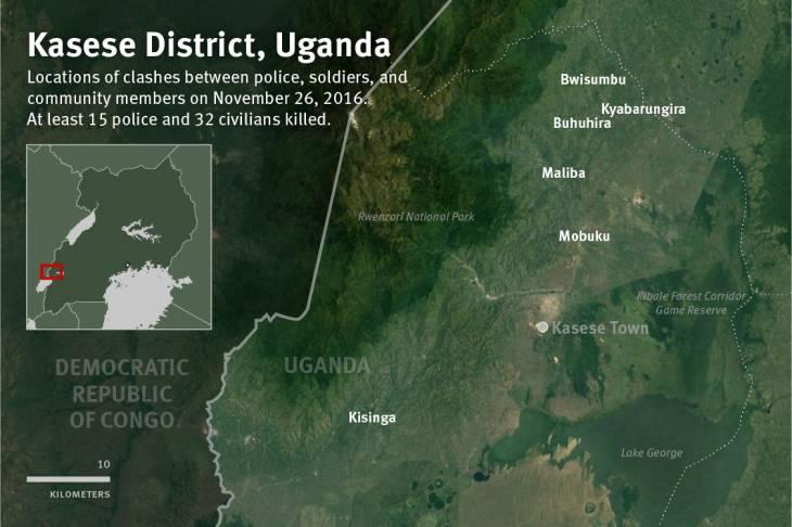HRW: Ensure Independent Investigation into Kasese Killingsin Uganda