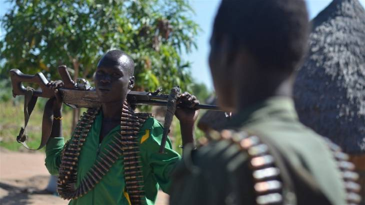 Fuelled by corruption, South Sudan war enters third year