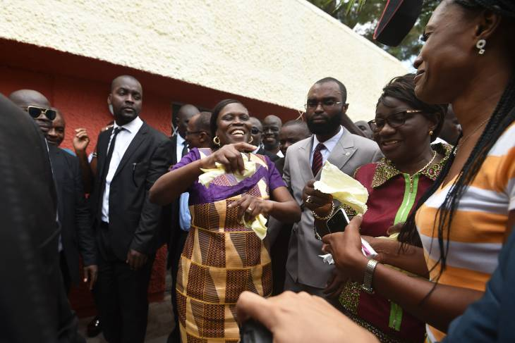 Ivory Coast ex-first lady Simone Gbagbo freed after amnesty