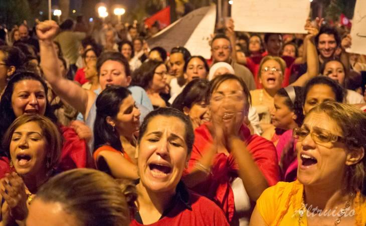 """""""En Tunisie, une nouvelle génération de femmes veut faire de la politique"""", explique Sophie Bessis"""