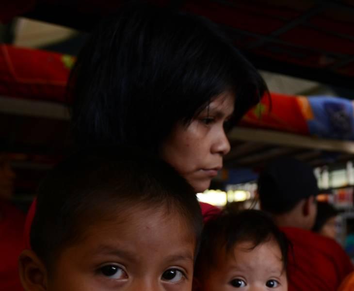 Born in Shining Path labor camps in Peru