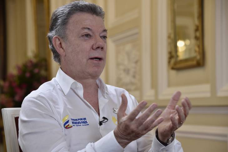 Santos confident Colombians will say 'yes' to peace