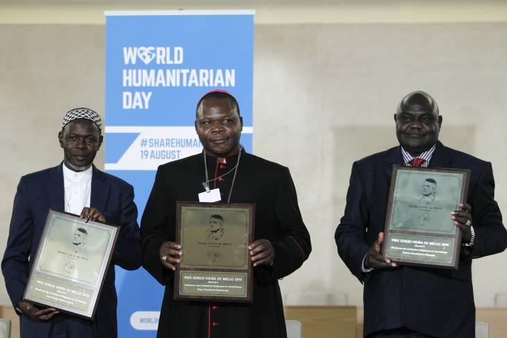 Centrafrique : un nouveau prix international décerné à la Plateforme interconfessionnelle