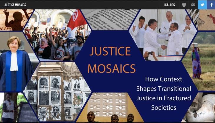 Justice transitionnelle : le sur-mesure défendu par l'ICTJ