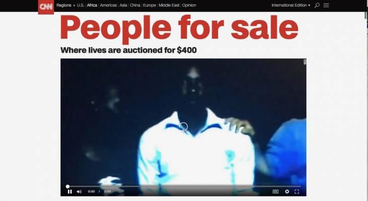 """Esclavage en Libye: """"tout le monde savait"""""""