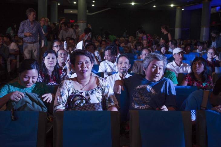 Film festival reflects state of Myanmar transition