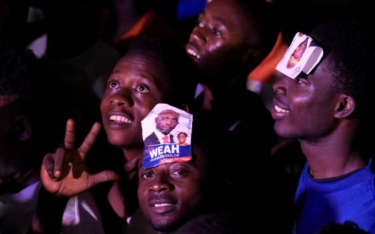 Première transition démocratique pour le Liberia avec Weah