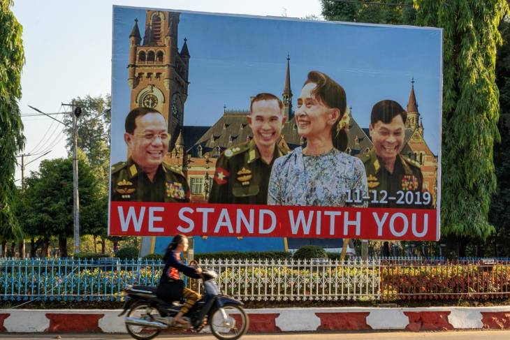 "Does ""the lady doth protest"" mark the beginning of Myanmar's reckoning?"