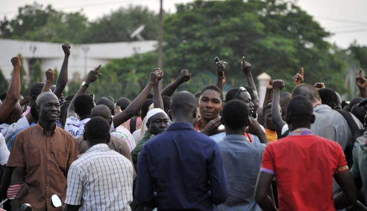 Burkina Faso : the end of democratic transition