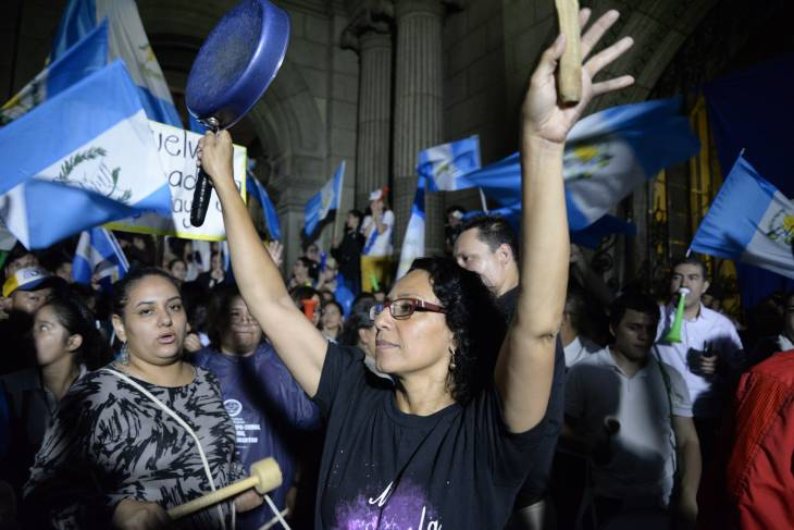 Guatemala: President Is Urged to Resign