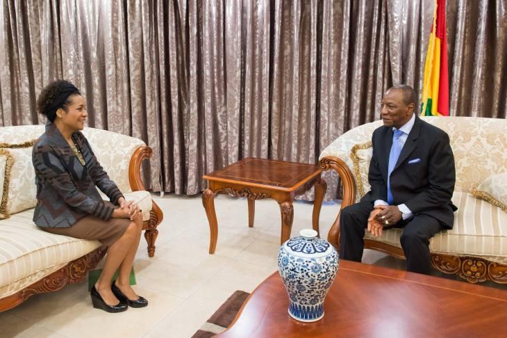 Guinée : un troisième mandat du président Alpha Condé dans l'air