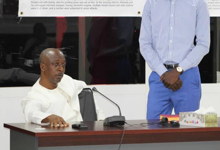 L'ex-putschiste Touray met à l'épreuve la commission vérité en Gambie