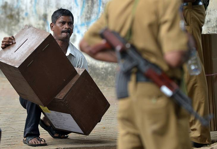 """SRI LANKA POLLS COULD BE """"CRUCIAL"""" FOR RECONCILIATION"""
