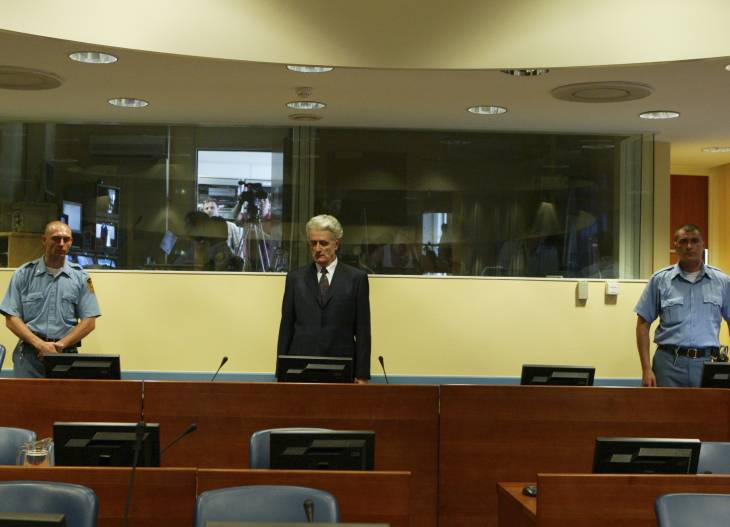Karadzic guilty of genocide, jailed for 40 years