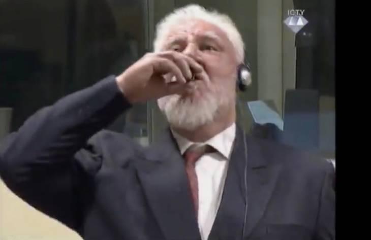 Un accusé s'empoisonne à l'audience au Tribunal pour l'ex-Yougoslavie