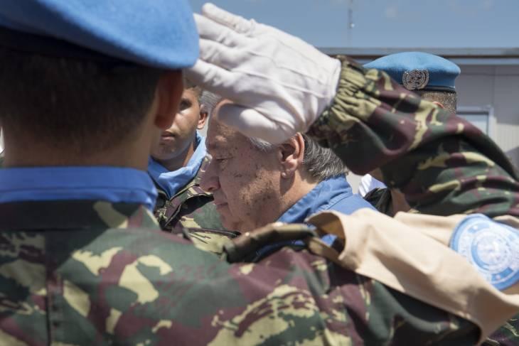 """En RCA, le secrétaire général de l'ONU défend ses casques bleus et la """"justice"""""""