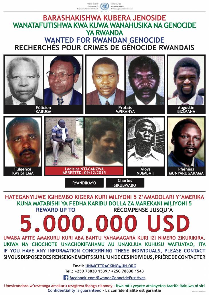 Leading Rwandan genocide suspect arrested in DR Congo