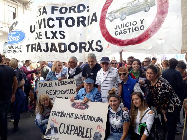 Le procès Ford en Argentine, une victoire ouvrière