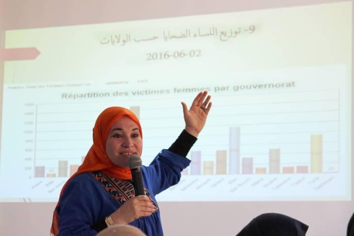 En Tunisie, les femmes victimes brisent les tabous