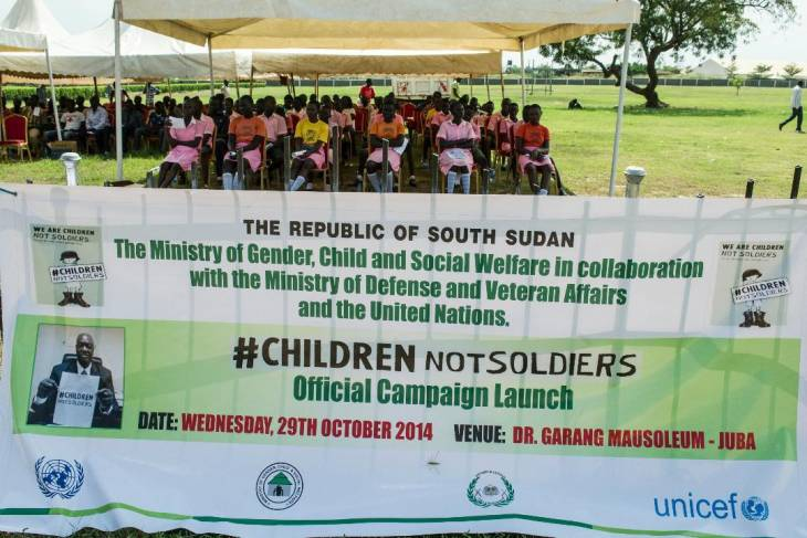 The challenges of reintegrating child soldiers in South Sudan