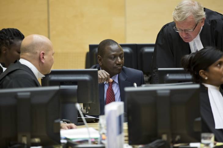 La guérilla du vice-président kényan devant la CPI