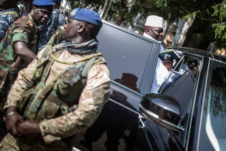 Gambia: when Jammeh was driving at break-neck speed