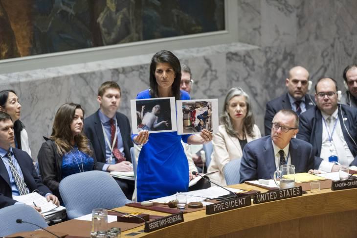 Attaque en Syrie: les Etats-Unis menacent de passer à l'action