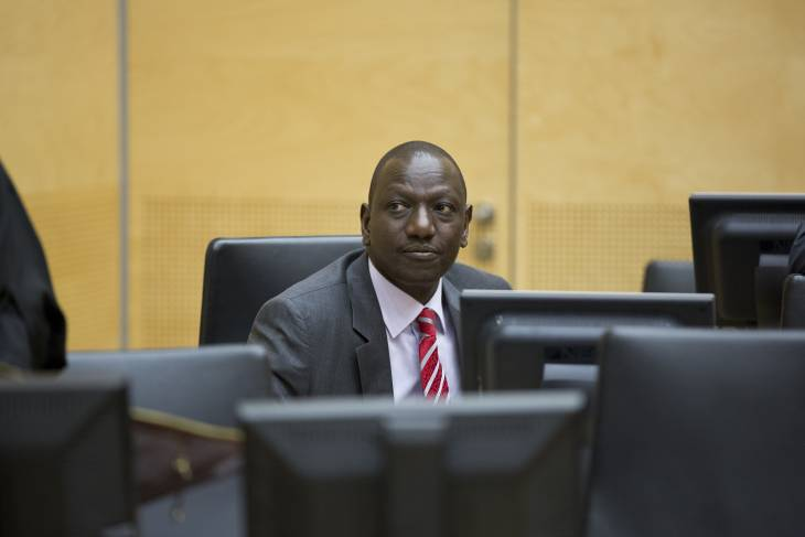 ICC drops charges in Kenya Ruto case
